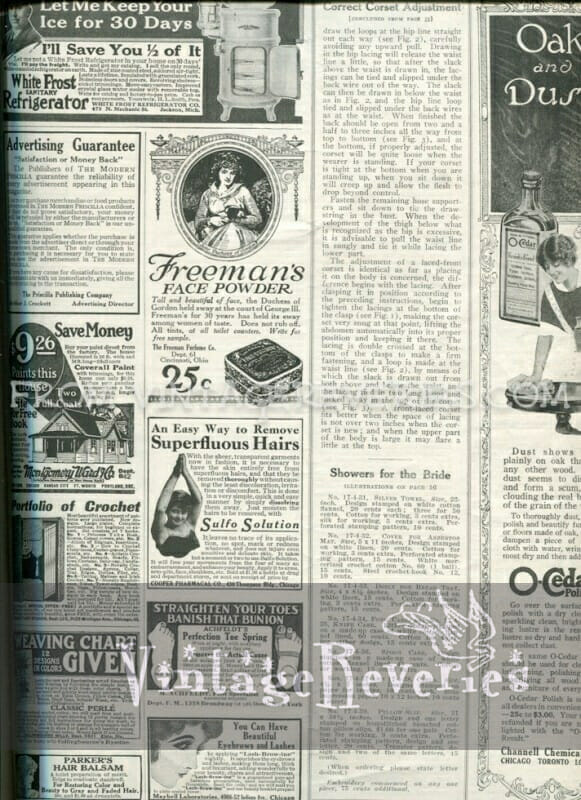 old fashion magazine ads