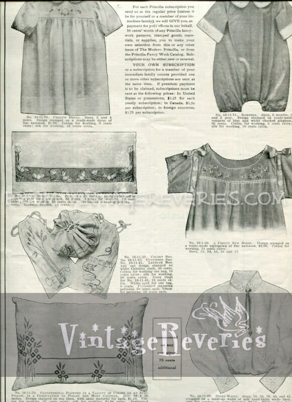 1917 children's clothing