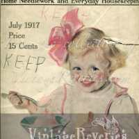 July 1917 - World War I issue of The Modern Priscilla Housekeeping Magazine