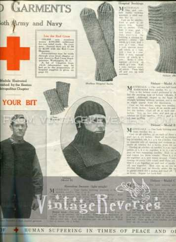 World War I Red Cross