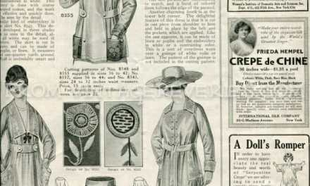 1917 fashions, advertisements, and articles from The Modern Priscilla – July 1917 issue