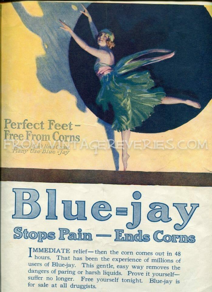 Old Sugar Advertisement for Blue-jay sugar