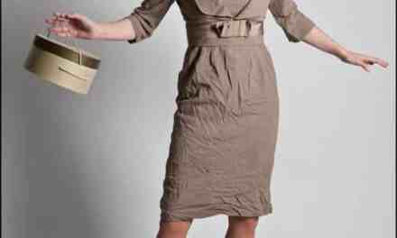 SOLD – The Gray Shop of Oakland California Vintage Wool Suit Dress