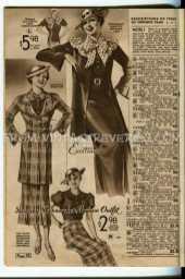 1930s dress fashions advertisement
