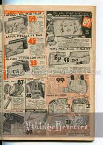 1930s advertisements for purses
