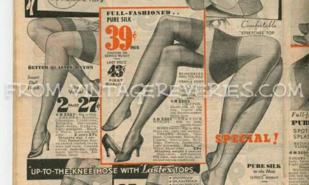 1930s Stockings Advertisements: Silk stockings, Rayon Stockings, Chiffon Stockings & More