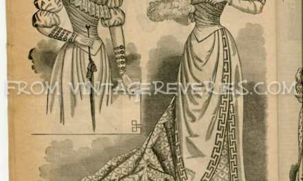 1892 Fashion Magazine – 10 scans from the Delineator