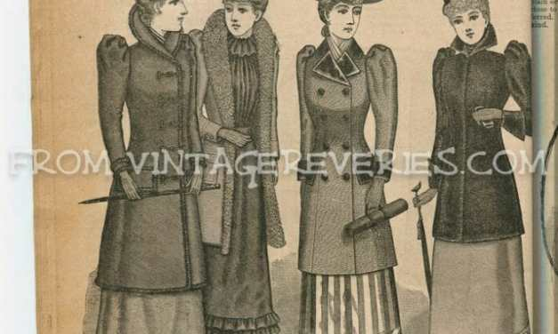 Styles for Misses and Girls (Winter of 1892 – The Delineator)