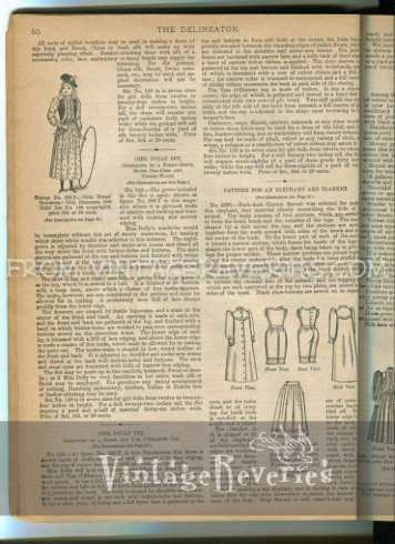 victorian doll fashions