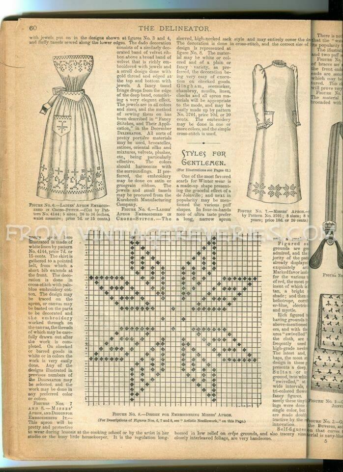 1892 cross stitch pattern