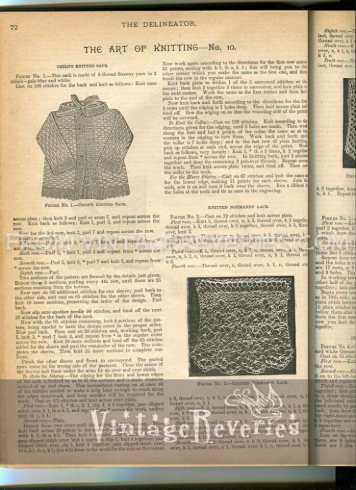 normandy lace pattern
