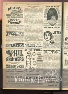 1890s advertisement pages