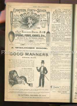victorian silverware advertisement