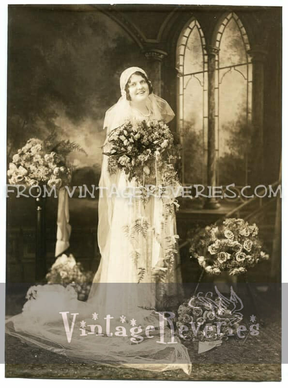 1930s Wedding Portraits, and dating old photos by hair style