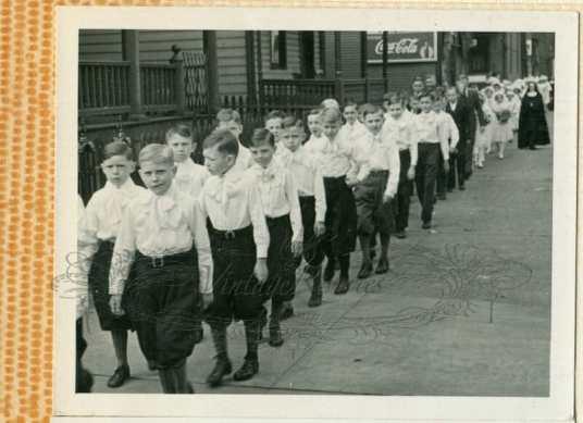 1930s catholic school boys