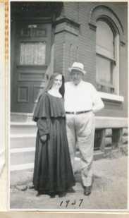 1930s nun with a man