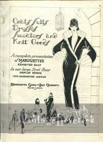 flapper fashion in St. Louis old advertisement