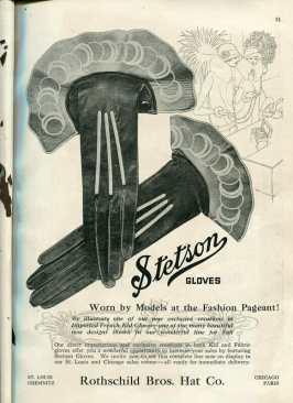 1920s stetson glove advertisement