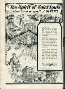 1920s bank advertisement