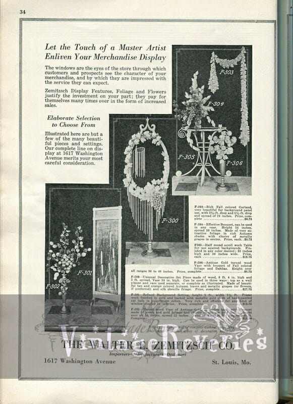1920s Business to Business advertisement, and Knit Fashion ad