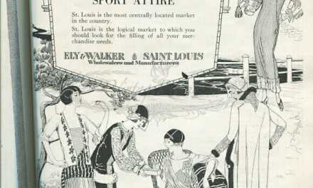 1920s St. Louis Fashion Advertisements