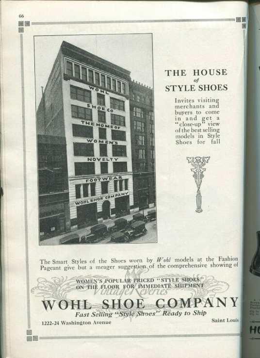 Wohl Shoe Company St Louis