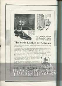 1920s shoe making supplies and leather ad