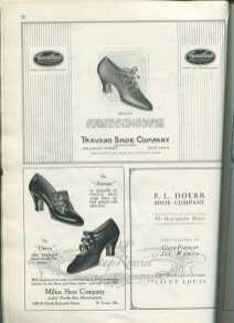 1920s shoe ad St Louis