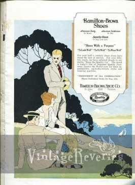Hamilton-Brown Shoes fashions 1924 Advertisement