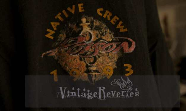 Poison 1993 Native Tongue tour vintage crew tshirt
