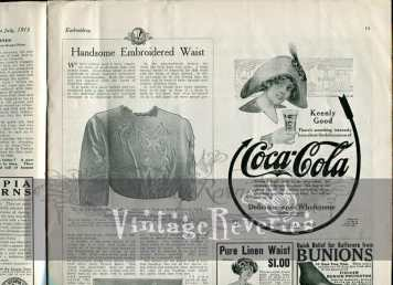 edwardian coca-cola advertisement