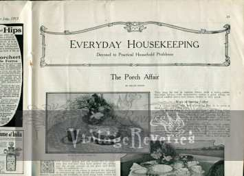 victorian house keeping advice