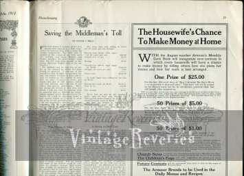Make money from home early 1900s