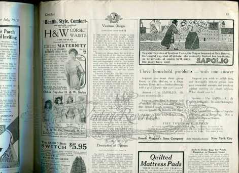 early 1900s corset advertisement