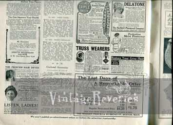 early 1900s advertisement scan