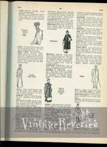 1920s coat fashions