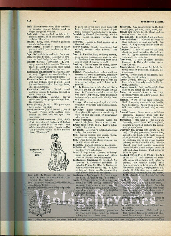 1930s dictionary