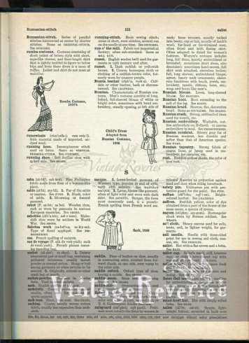 1930s sack blouse fashion