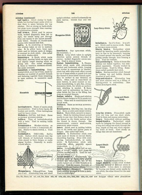 needlework identification