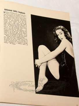 1953 pinup focus on derrière