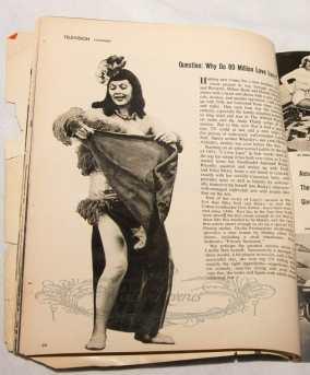 Lucille Ball as a Pinup