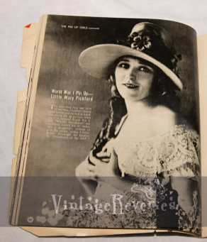 Mary Pickford raised Liberty Bonds in WWI