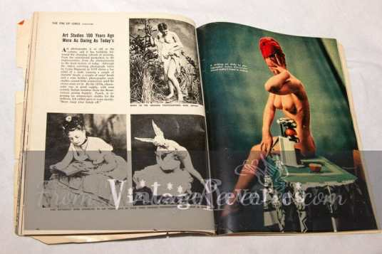 history of nude photography
