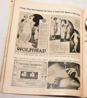 1920s flapper corset vs blow up bra 1950s