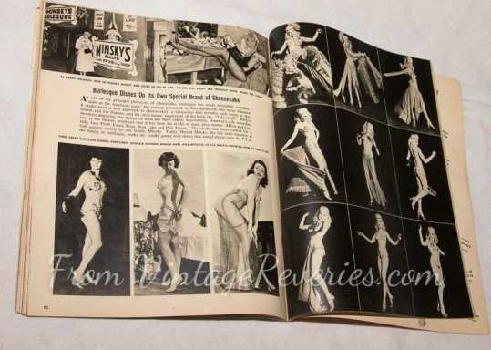 1950s burlesque stars