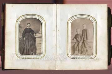 civil war era women and children