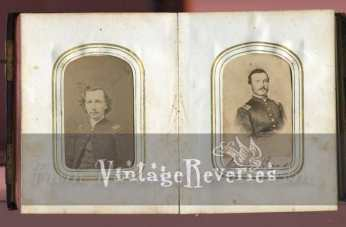 Civil War officer photos