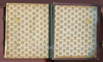 floral print civil war album
