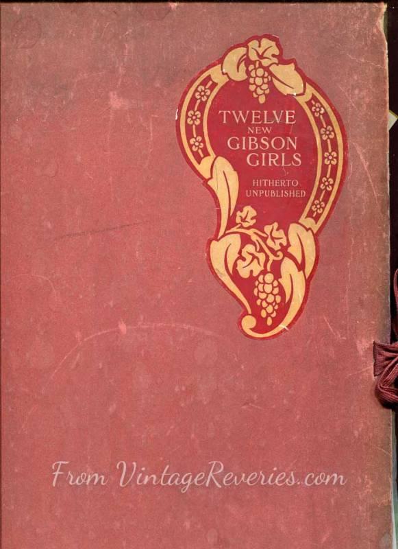 gibson girl portfolio cover