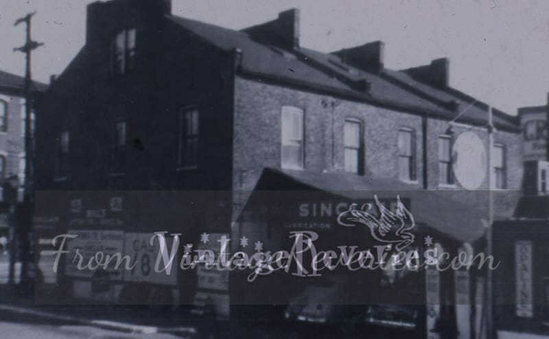 sinclair gas station 1930s